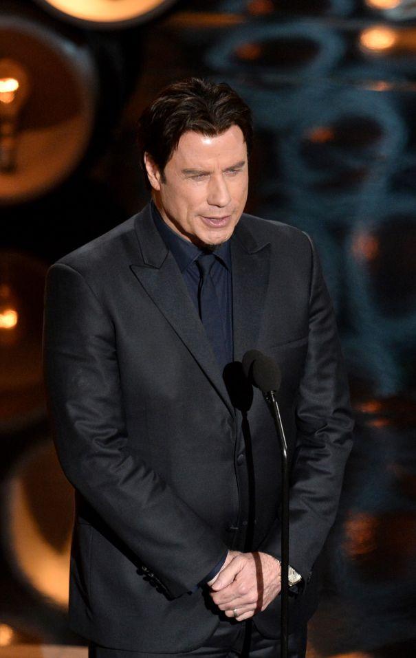 John Travolta's Verbal Slip