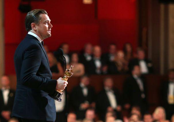 Leonardo DiCaprio's Moment