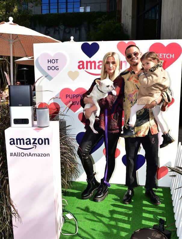 Ashlee Simpson, Evan Ross Have A Pup-Tastic Valentine's