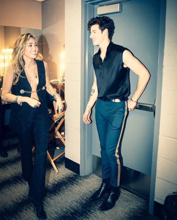 Miley Cyrus + Shawn Mendes
