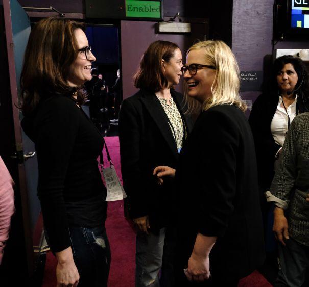 Tina Fey, Amy Poehler + Maya Rudolph