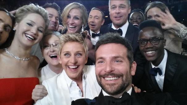 Ellen's Star-Studded Oscar Selfie