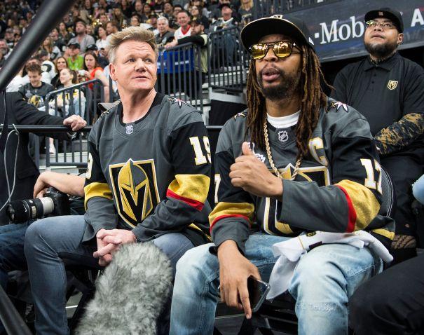 Gordon Ramsay, Lil Jon Cheer On The Vegas Golden Knights