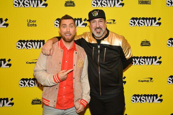 Lance Bass And Joey Fatone