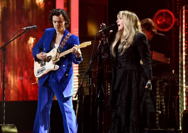 Harry Styles Performing With Stevie Nicks
