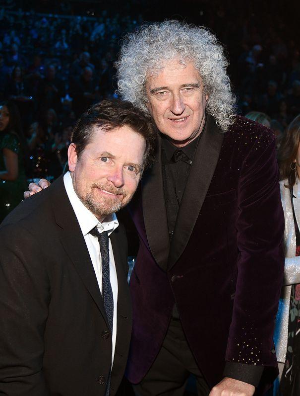Michael J. Fox And Brian May