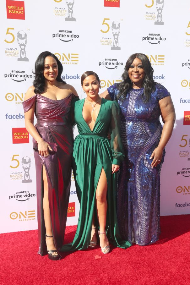 Tamera Mowry-Housley, Adrienne Bailon, And Loni Love