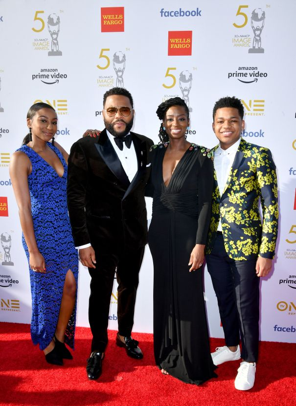 Anthony Anderson And Family