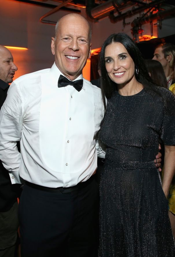 Bruce Willis + Demi Moore