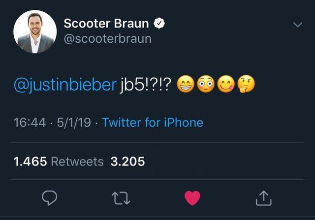 Sccoter Braun/Twitter
