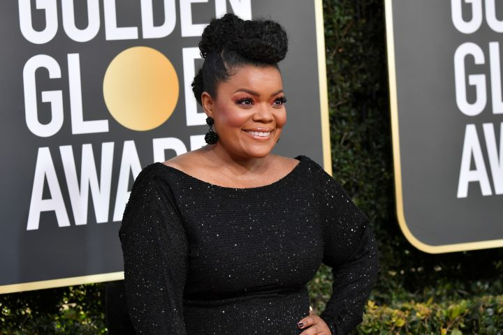 Mandatory Credit: Photo by Rob Latour/REX/Shutterstock (10048066ai) Yvette Nicole Brown 76th Annual Golden Globe Awards, Arrivals, Los Angeles, USA - 06 Jan 2019