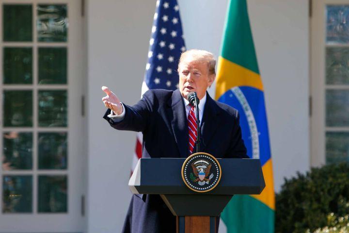 Donald Trump - Vanessa Carvalho/REX/Shutterstock