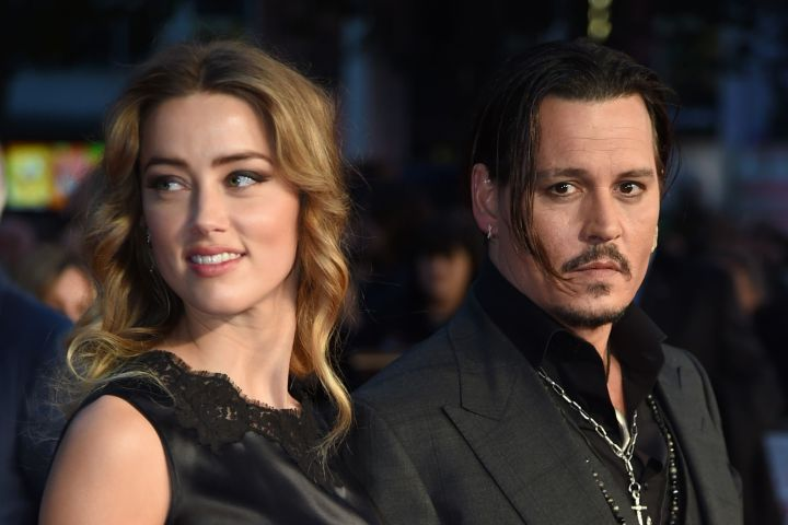 Mandatory Credit: Photo by Richard Young/REX/Shutterstock (5226551x) Amber Heard and Johnny Depp 'Black Mass' premiere, 59th BFI London Film Festival, Britain - 11 Oct 2015