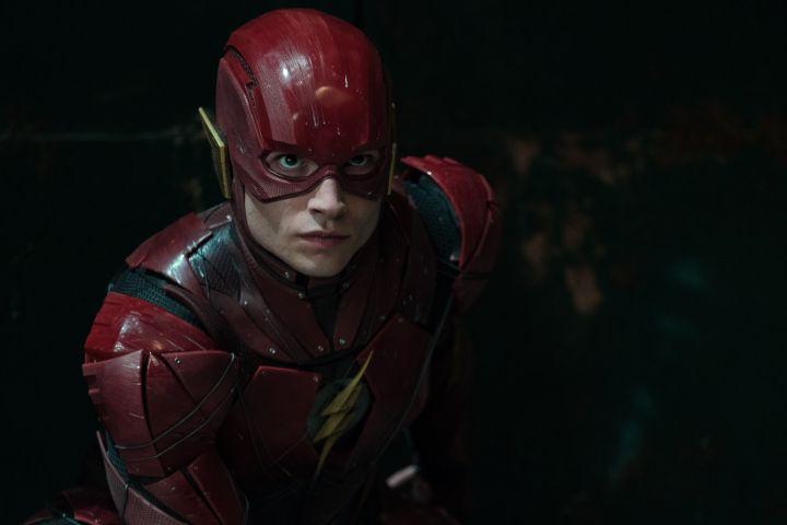 "Clay Enos/Dc/Warner Bros/REX/Shutterstock (9195385i) Ezra Miller ""Justice League"" Film - 2017"