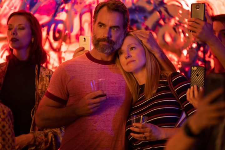 "Murray Bartlett as ""Michael 'Mouse' Tolliver""; Laura Linney as ""Mary Ann Singleton""."