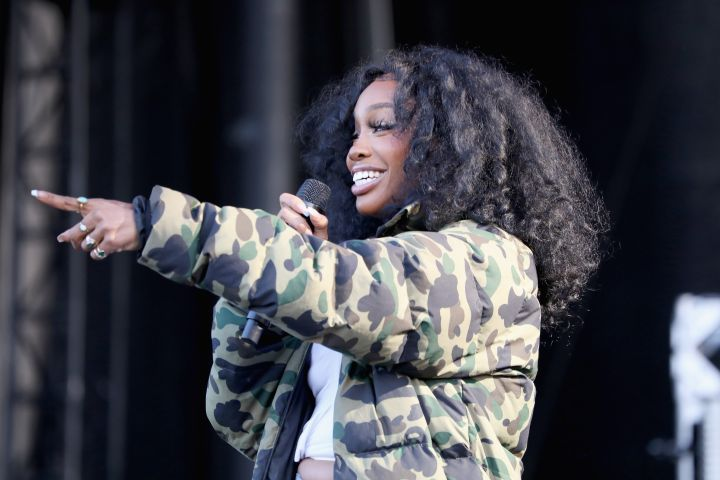 SZA  (Photo by Brian Ach/Getty Images for Something in the Water)
