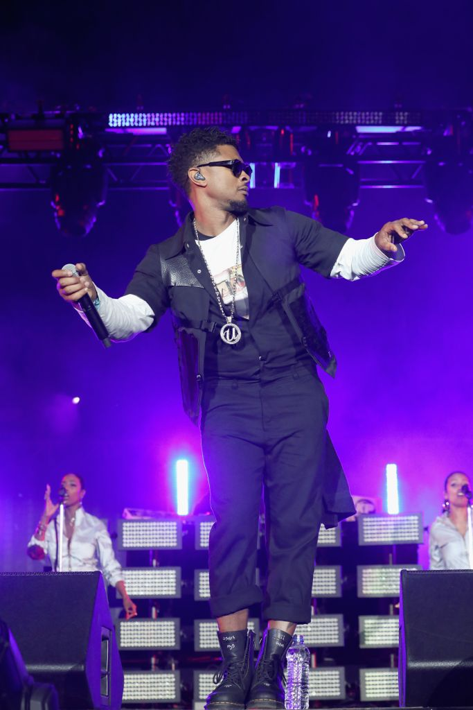Usher (Photo by Brian Ach/Getty Images for Something in the Water)