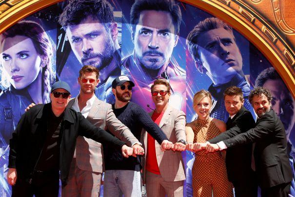 'Marvel-ous' Handprint Ceremony