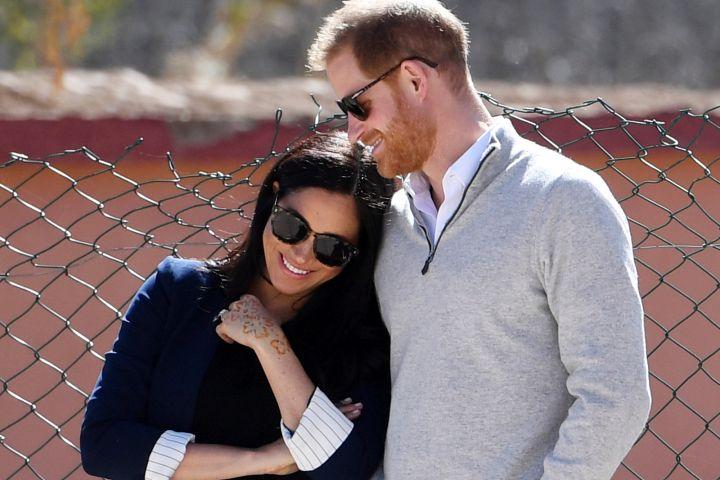 Meghan Markle and Prince Harry. Photo by: Facundo Arrizabalaga/Pool via AP, File