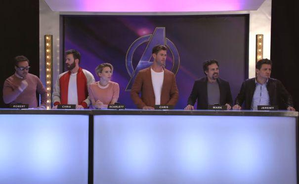 Chris Evans Dominates Marvel Themed Drawing Game