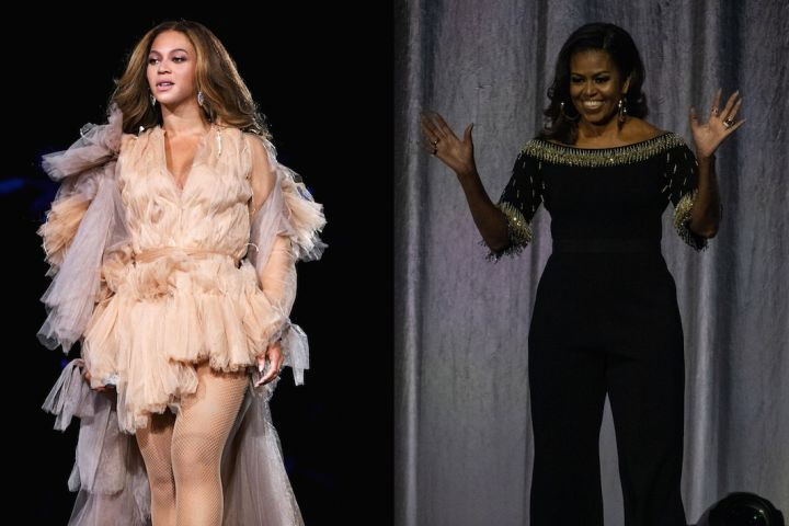 Beyonce - Michelle Obama - Getty Images