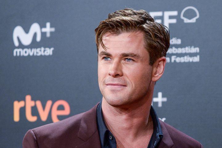 Chris Hemsworth. Photo by Carlos Alvarez/Getty Images