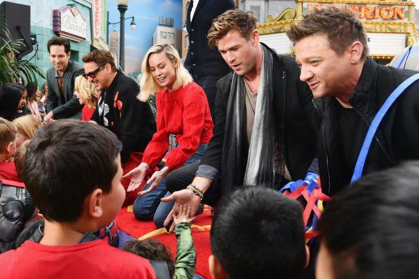 The 'Avengers' Take Over Disneyland