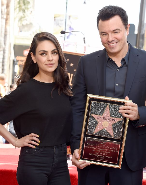 Seth MacFarlane And A Famous Friend