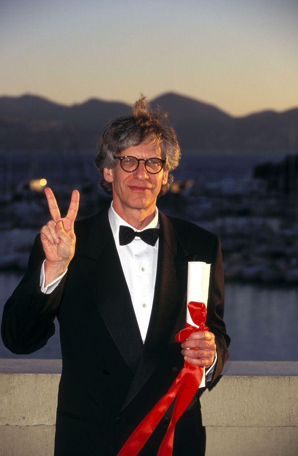 David Cronenberg Wins An Award For 'Audacity', 1996