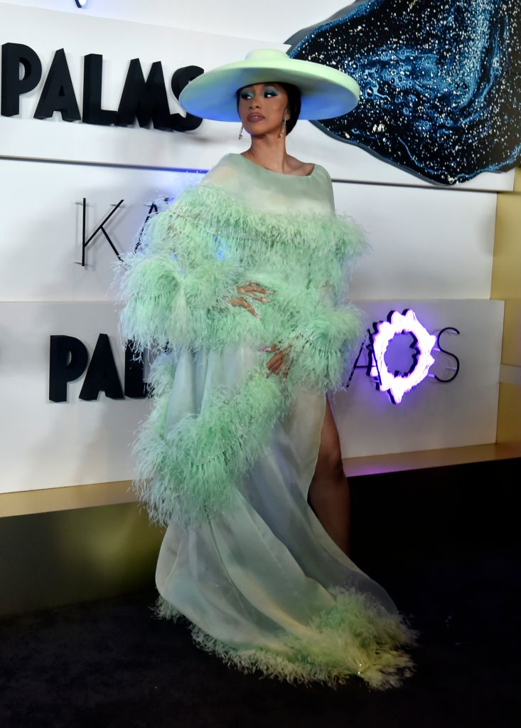 LAS VEGAS, NEVADA – APRIL 06: Cardi B attends the grand opening of KAOS Dayclub & Nightclub at Palms Casino Resort on April 06, 2019 in Las Vegas, Nevada. (Photo by David Becker/Getty Images for Palms Casino Resort)