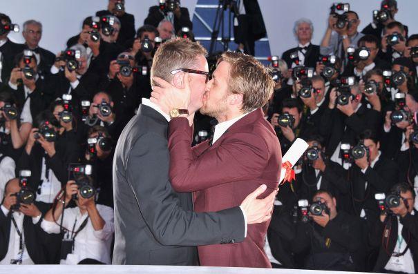 Ryan Gosling's Big Kiss, 2011