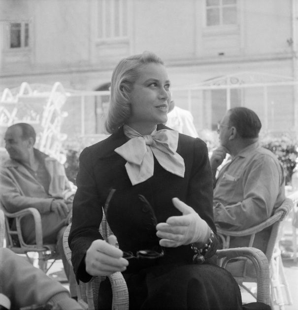 Grace Kelly Meets Prince Rainier, 1955