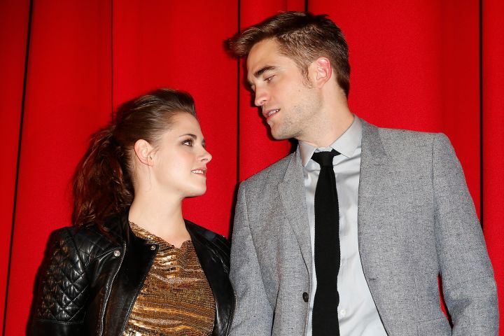 Kristen Stewart and Robert Pattinson. Photo by Franziska Krug/Getty Images