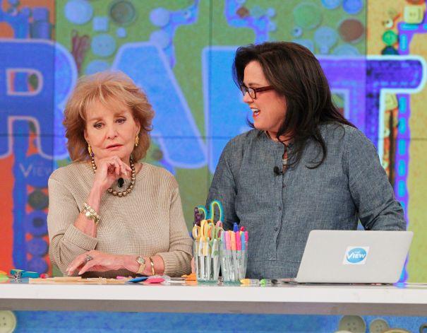 Barbara Walters vs. Rosie O'Donnell