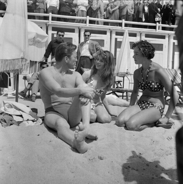 Brigitte Bardot's Bikini Makes Waves, 1953