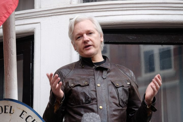 Julian Assange. Photo: Jay Shaw Baker/NurPhoto via Getty Images
