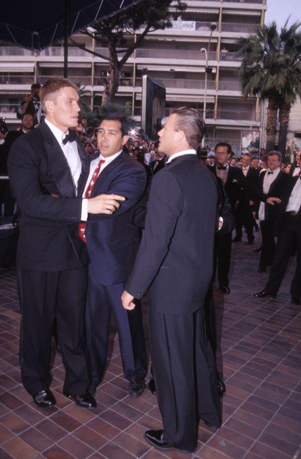 Jean-Claude Van Damme vs. Dolph Lundgren, 1992