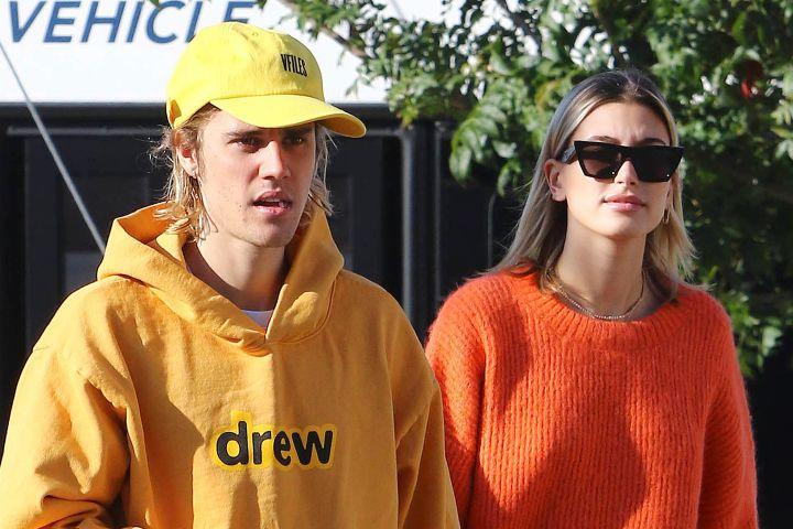 Justin Bieber, Hailey Baldwin - Broadimage/REX/Shutterstock