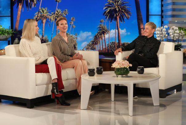 Brie Larson, Scarlett Johansson Take Over 'Ellen'