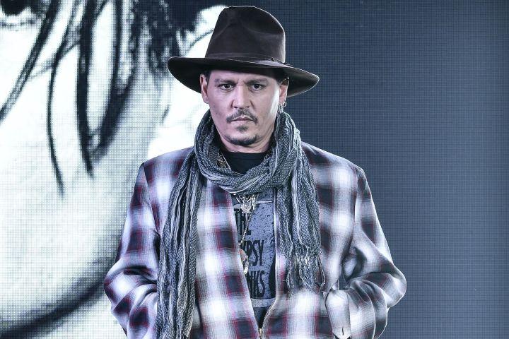 Johnny Depp - Imaginechina/REX/Shutterstock