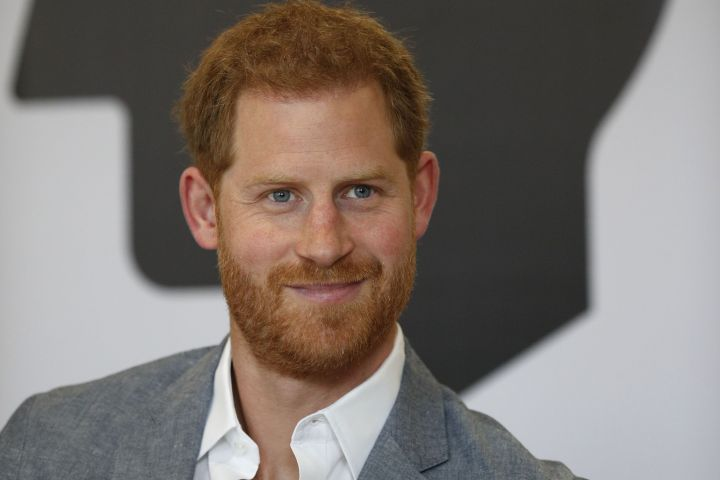 Mandatory Credit: Photo by REX/Shutterstock (10185791k) Prince Harry smiles during a discussion, while on a visit to YMCA South Ealing.