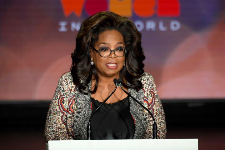Oprah Winfrey. Photo: Andrew H. Walker/REX/Shutterstock