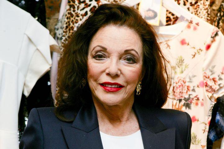 Joan Collins - Geoffrey Swaine/REX/Shutterstock