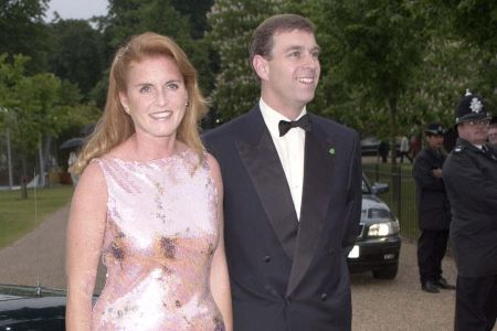 prince andrew younger years