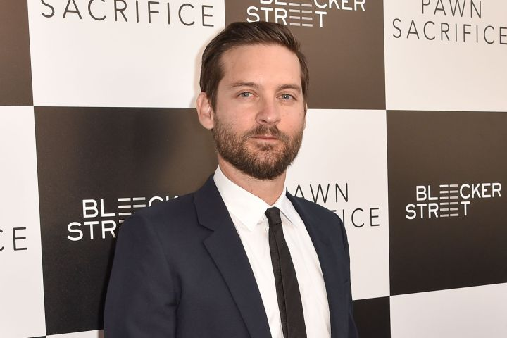 Mandatory Credit: Photo by Rob Latour/REX/Shutterstock (5053000q) Tobey Maguire 'Pawn Sacrifice' film premiere, Los Angeles, America - 08 Sep 2015