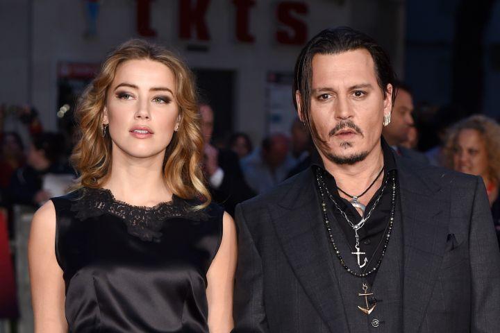 Amber Heard, Johnny Depp - David Fisher/REX/Shutterstock
