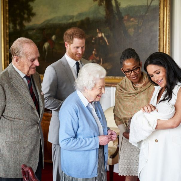 Archie Meets The Queen