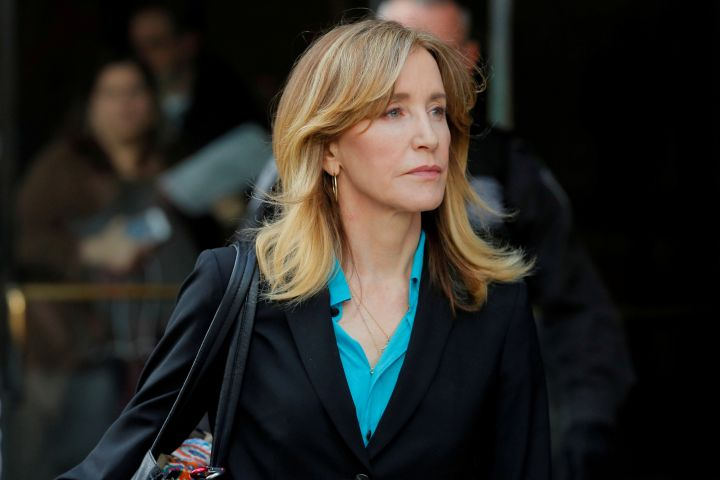 Felicity Huffman. Photo: REUTERS/Brian Snyder/File Photo/File Photo