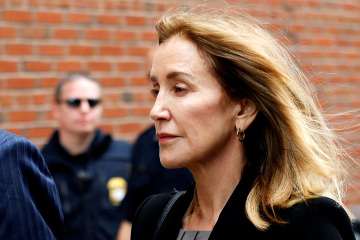 Felicity Huffman. Photo: REUTERS/Katherine Taylor     TPX IMAGES OF THE DAY