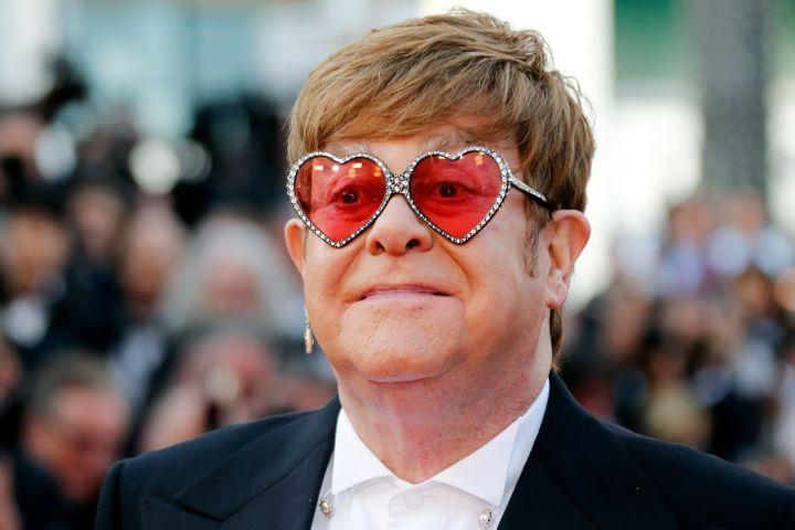 Elton John - REUTERS/Regis Duvignau